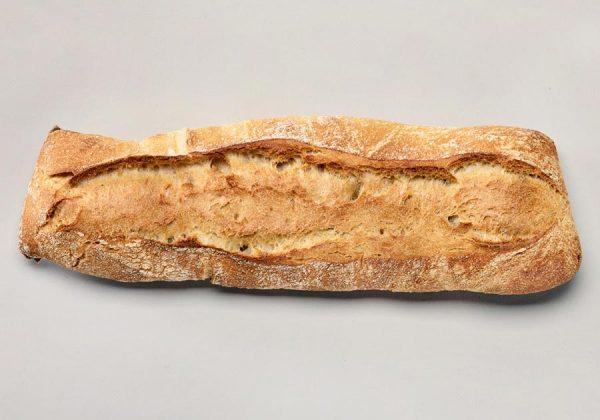 Pan de primitivo estrecho