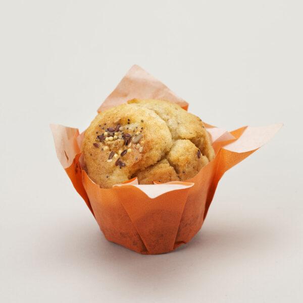 Muffin con manzana y cereales 3