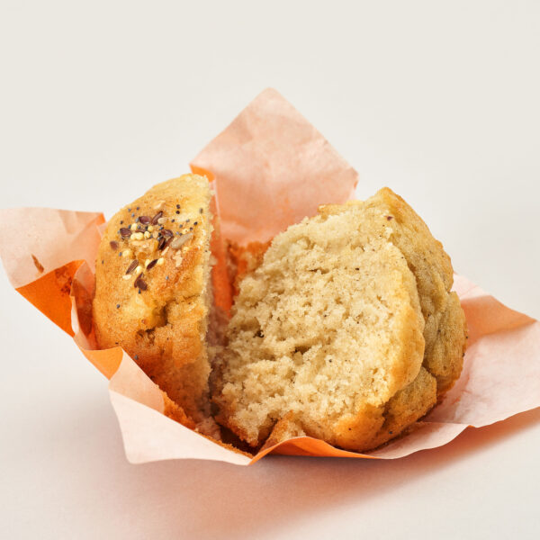 Sagar eta zereal muffina 4
